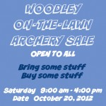 Woodley Park Archers Swap Meet