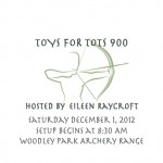 Annual Woodley Park Toys for Tots 900 and Toys for Tots 300