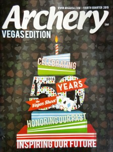 Arcehry Magazine Cover - Vegas Edition