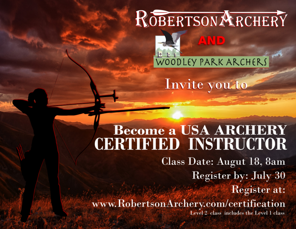 Become a Certified Archery Instructor!