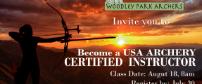 USAA L1 and L2 Certification classes coming in August!