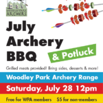 July Archery BBQ and Potluck!